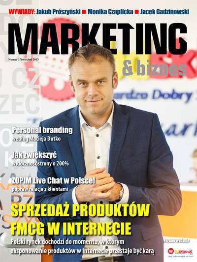 """Rozmowa ukazała się w pierwszym numerze nowego czasopisma """"Marketing & Biznes"""""""