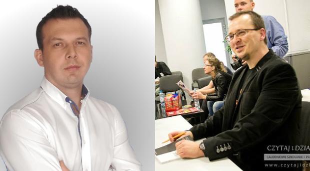 Na zdjęciu (od lewej): Piotr Motyl i Maciej Dutko